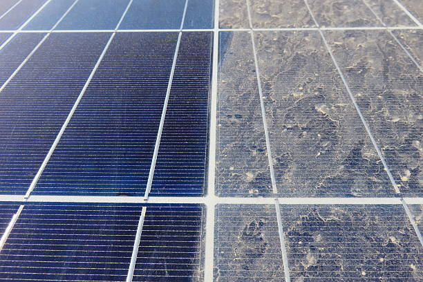 Koszos napelem panel