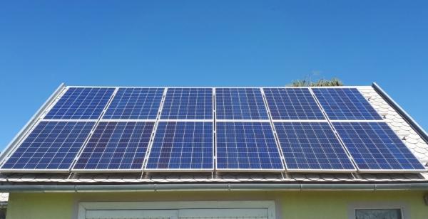Standard napelem rendszer