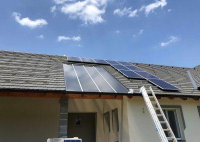 10,26 kWp napelem rendszer Somogy megye Cserénfa2