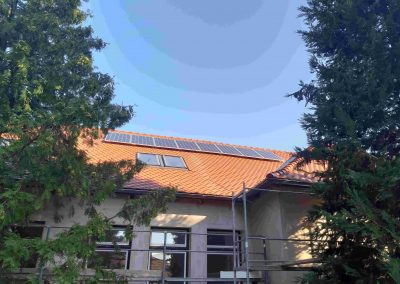 2,2 kWp napelem rendszer Magyaratád Kastély 3