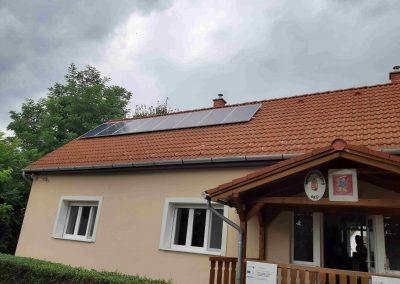 2,2 kWp napelem rendszer Orci 2