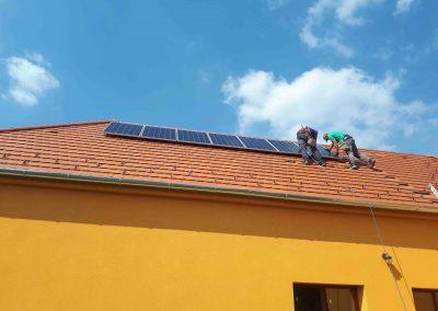 2,2 kWp napelem rendszer Patalom Kultúrház 1