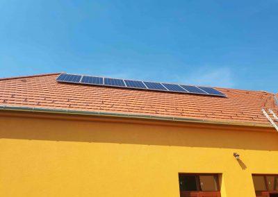 2,2 kWp napelem rendszer Patalom Kultúrház 2