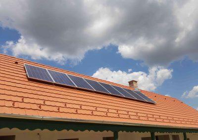 2,2 kWp napelem rendszer Polány Somogyi Natúra Nonprofit Kft 3
