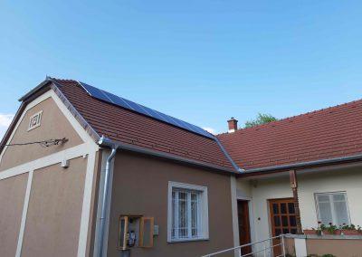 2,2 kWp napelem rendszer Zimány Önkormányzat 1