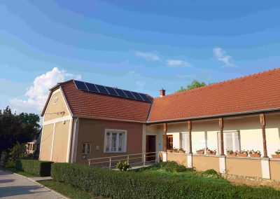2,2 kWp napelem rendszer Zimány Önkormányzat 2