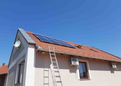 2,24 kWp napelem rendszer Polány 3