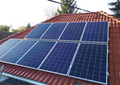 2,5 kWp napelem rendszer Almamellék Bölcsőde 3
