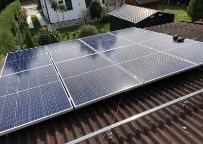 3,4 kWp napelem rendszer Fonyód 1