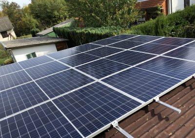 3,4 kWp napelem rendszer Fonyód 2
