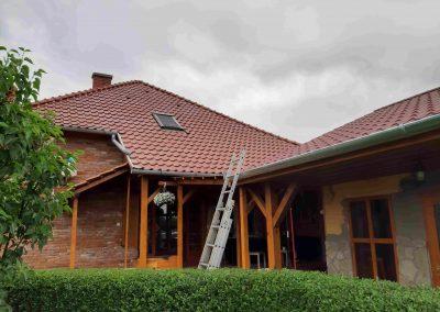 3,65 kWp napelem rendszer Kaposmérő, családi ház 1