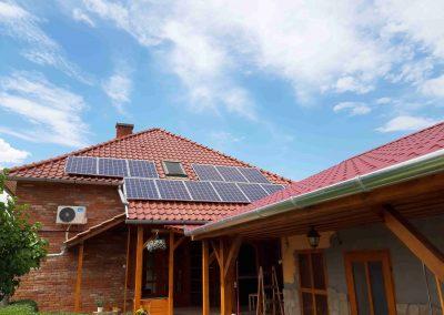 3,65 kWp napelem rendszer Kaposmérő, családi ház 2