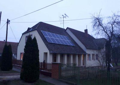 3,85 kWp napelem rendszer Almamellék Orvosi rendelő 2