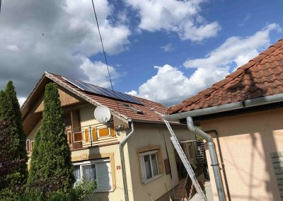 4 kWp napelem rendszer Igal2
