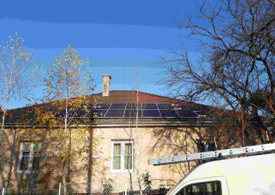 4 kWp napelem rendszer Magyaratád Önkormányzat 2