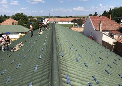 40 kWp napelem rendszer Baté 1