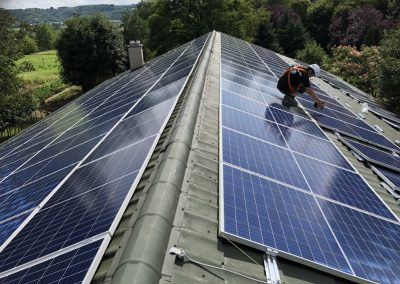 40 kWp napelem rendszer Baté 2