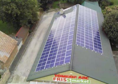 40 kWp napelem rendszer Baté 3
