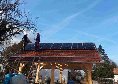 4,0 kWp napelem rendszer Somogysárd, Betyár Csárda 2