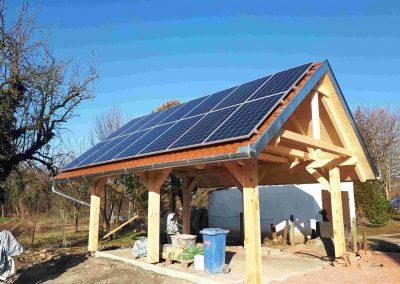 4,0 kWp napelem rendszer Somogysárd, Betyár Csárda 3