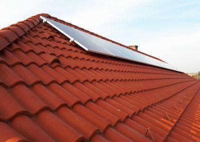 4,1 kWp napelem rendszer Almamellék Óvoda 3