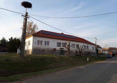 4,1 kWp napelem rendszer Almamellék Óvoda 4