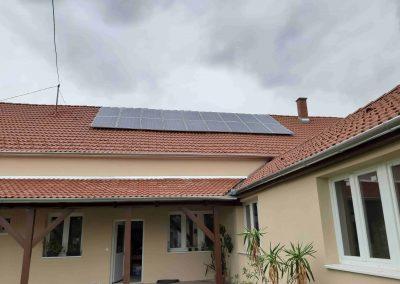 5,0 kWp napelem rendszer Nagybajom Városi Könyvtár 2