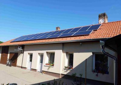6,0 kWp napelem rendszer Nagybajom ASzK 2