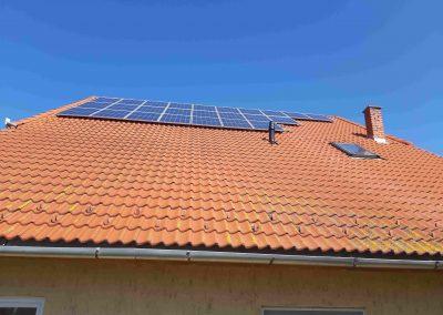 7,0 kWp napelem rendszer Baté Önkormányzat