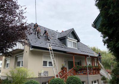 7,7 kWp napelem rendszer Balatonszárszó 1