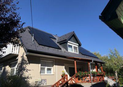 7,7 kWp napelem rendszer Balatonszárszó 3