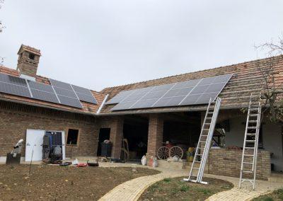 10,2 kWp napelem rendszer bővítés Igal 1