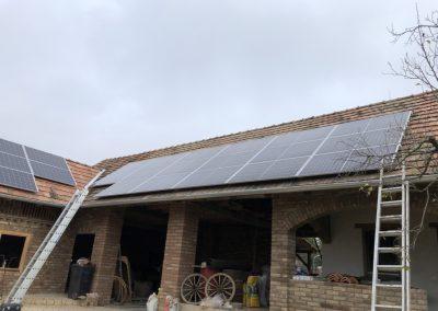 10,2 kWp napelem rendszer bővítés Igal 2
