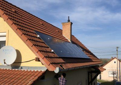 2,59 kWp napelem rendszer Szemely 2