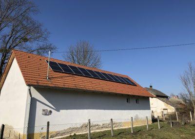 3,1 kWp napelem rendszer Osztopán 1