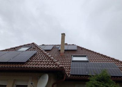 3,7 kWp napelem rendszer Kaposvár 1, TIGO optimalizálás