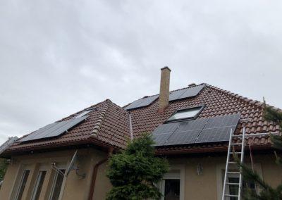 3,7 kWp napelem rendszer Kaposvár 2, TIGO optimalizálás