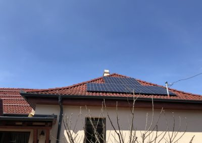 5,2 kWp napelem rendszer Kaposvár 1, TIGO optimalizálás