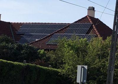 5,2 kWp napelem rendszer Kaposvár 3, TIGO optimalizálás
