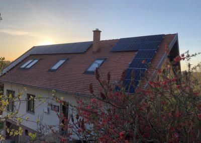 5,5 kWp napelem rendszer Kaposvár 2