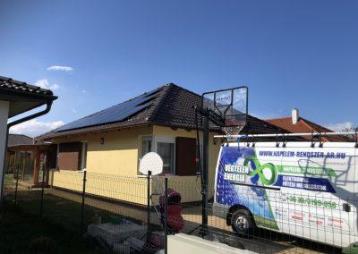 6,0 kWp napelem rendszer Kaposvár 3