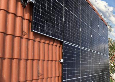 6,6 kWp napelem rendszer Kaposvár 1