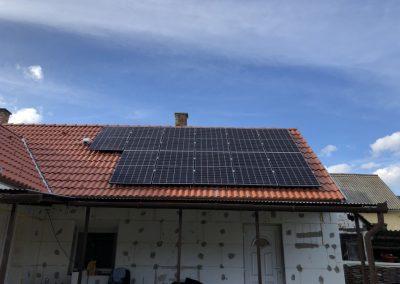 6,6 kWp napelem rendszer Kaposvár 2